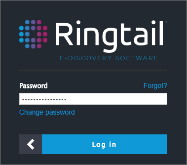 Password for new Ringtail login page.