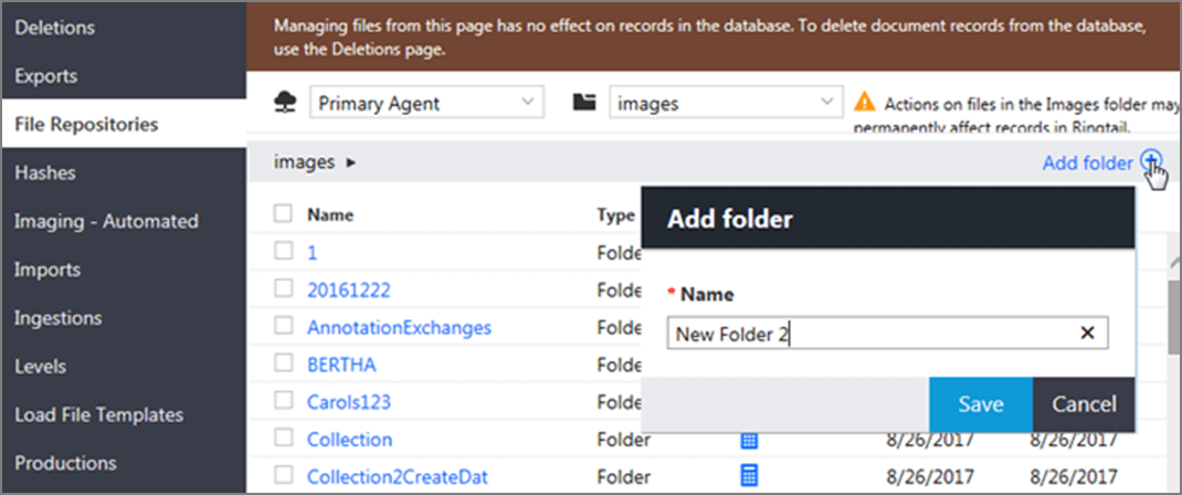 Add folder for File Repositories